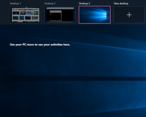 Hướng dẫn sử dụng Desktop ảo trên Win 10