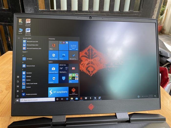 ==> Laptop Gaming HP Omen 15, i7 9750H, 8G, 512G, GTX1650, 99%, giá rẻ - 5