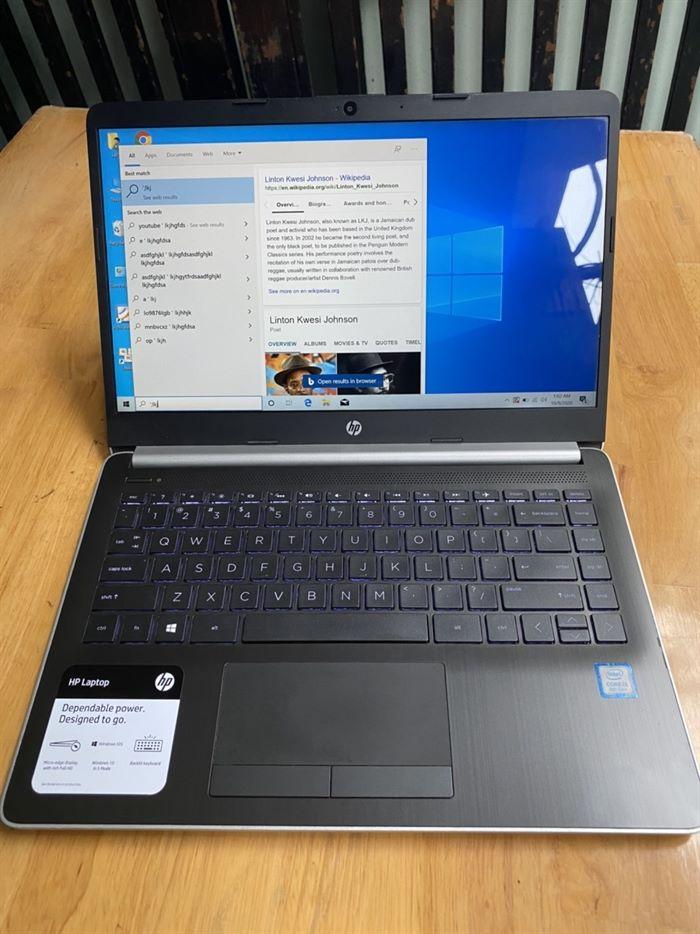 => laptop HP 14, i3 8130u, 8G, ssd 128G, Full HD, 14in, tràn viền - 3