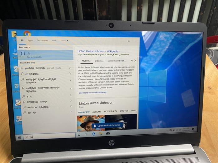 => laptop HP 14, i3 8130u, 8G, ssd 128G, Full HD, 14in, tràn viền - 4